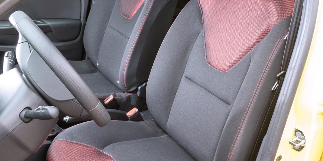 Renault Clio 1.2 16V 75, Fahrersitz