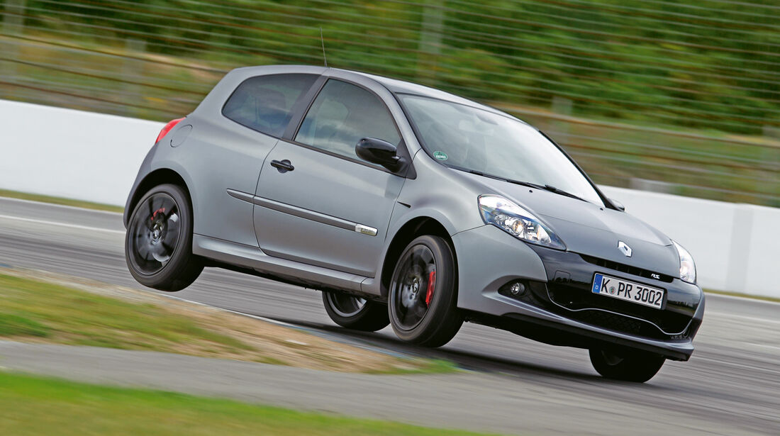 "Renault Clio R.S. ""sport auto Edition"", Frontansicht"