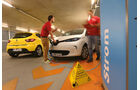 Renault Clio TCe 90, Renault Zoe, Parkhaus