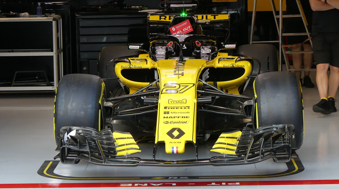 Renault - Formel 1 - GP Belgien - Spa-Francorchamps - 23. August 2018