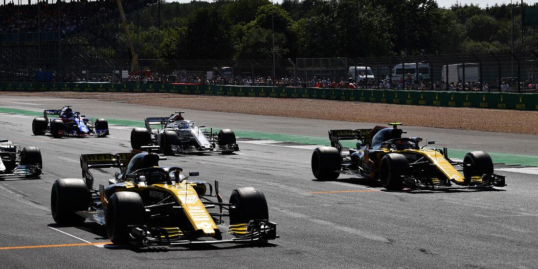 Renault - Formel 1 - GP England 2018