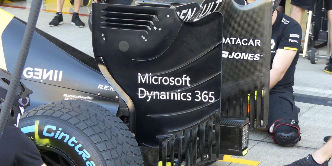 Renault - Formel 1 - GP Japan - Suzuka - Donnerstag - 6.10.2016