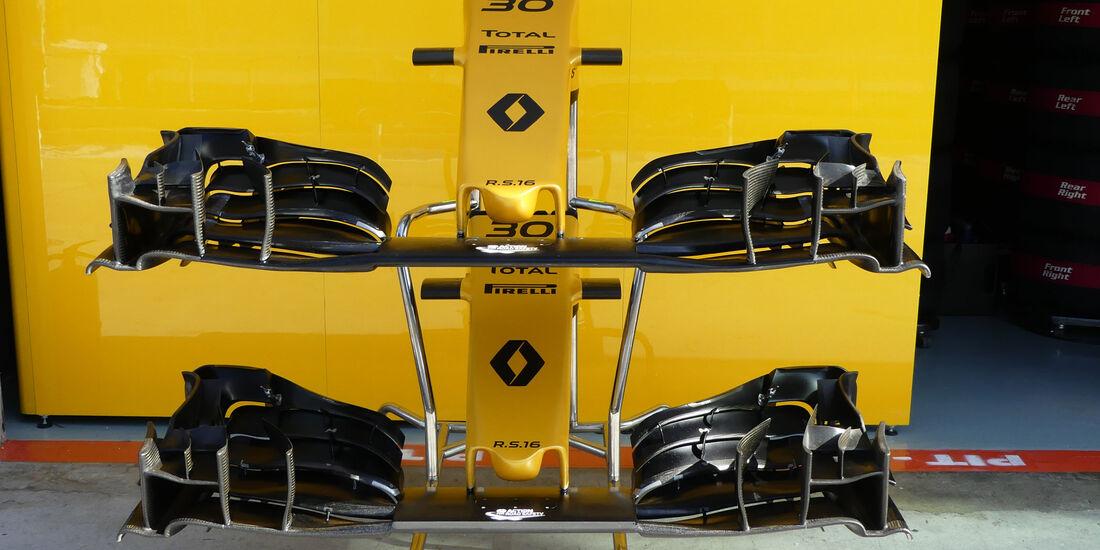 Renault -  Formel 1 - GP Malaysia - Freitag - 30.9.2016