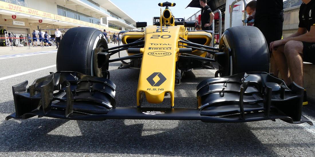 Renault - Formel 1 - GP USA - Austin - 20. Oktober 2016