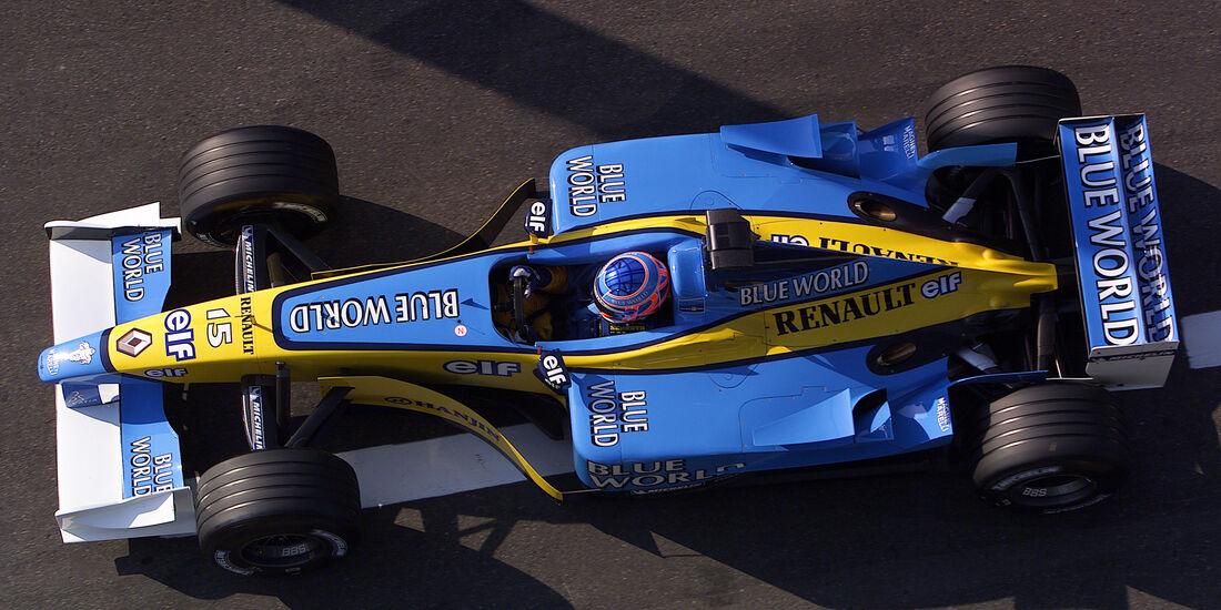 Renault - GP Frankreich - 2002 - F1