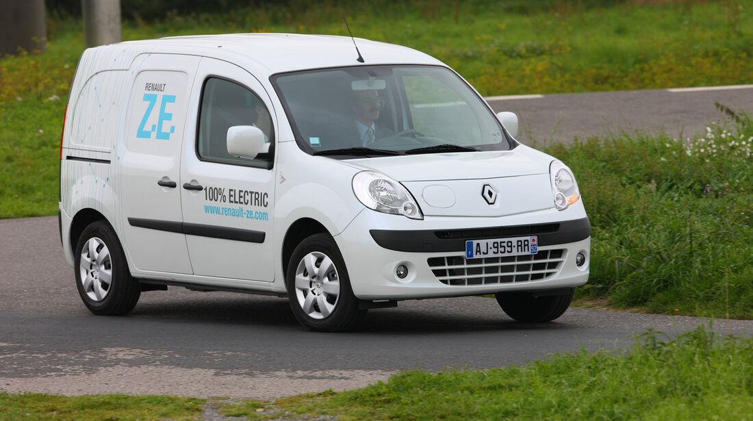 Renault Kangoo /Maxi Z.E., Seitenansicht