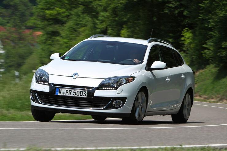 Renault Mégane Grandtour Energy dCi 110, Frontansicht
