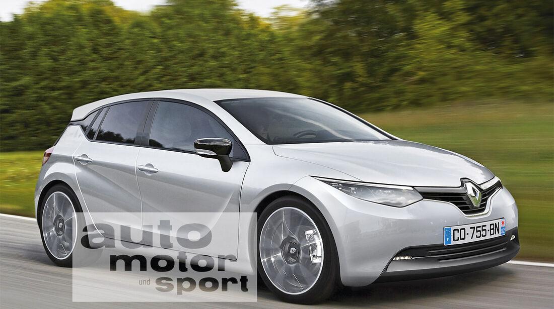Renault Mégane, Seitenansicht