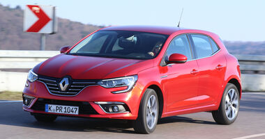 Renault Mégane dCi 130, Frontansicht