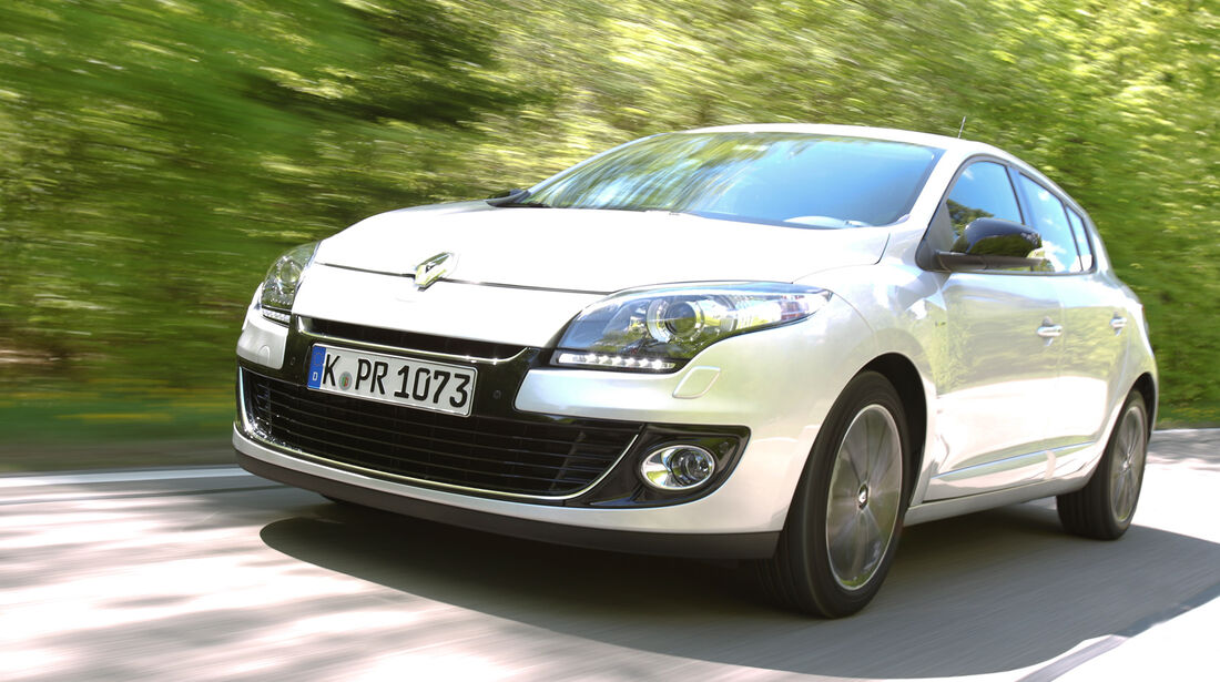 Renault Megane Energy dCi 130 Bose Edition, Frontansicht