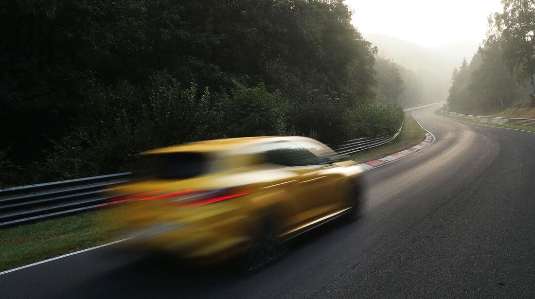 Renault Megane R.S., Heck, Nordschleife