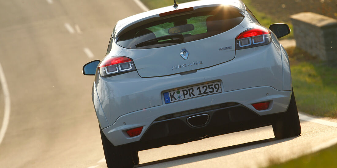 Renault Megane R.S., Heck