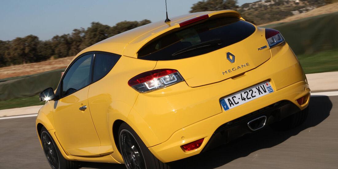 Renault Megane RS, Heckansicht