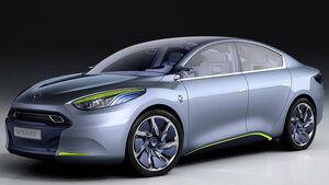 Renault Ökostudien, Renault Fluence Z.E. Concept