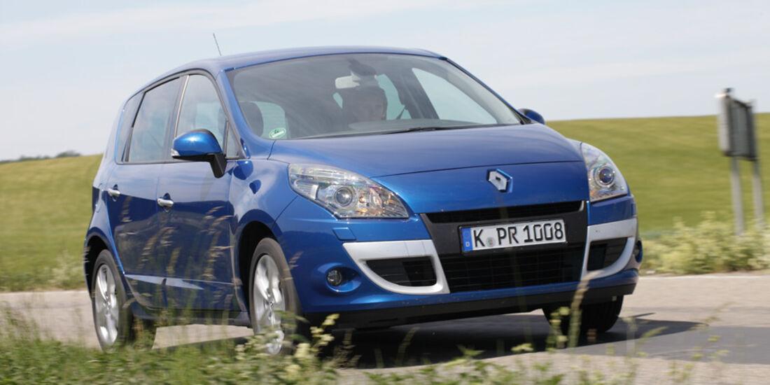 Renault Scenic dCi 110 FAP EDC, Frontansicht