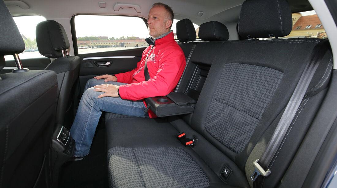 Renault Talisman GT dCi 130, Fondsitze