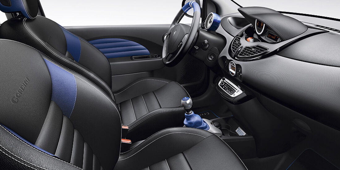 Renault Twingo R.S., Innenraum