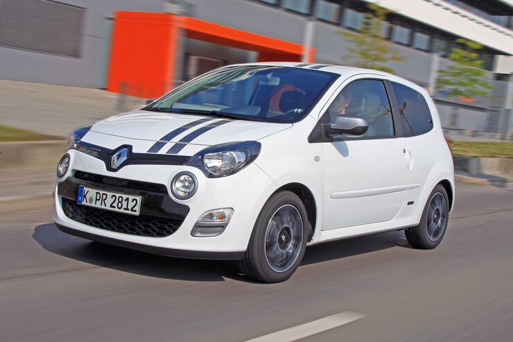 Renault Twingo TCe 100 Gordini, Frontansicht