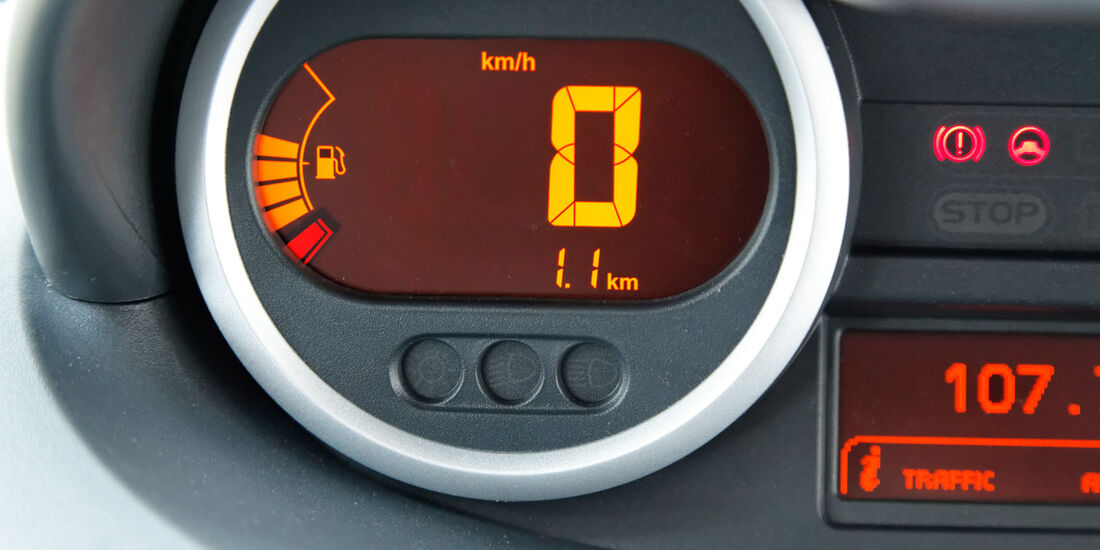 Renault Twingo, Tacho, Rundinstrument