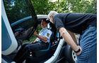 Renault Twizy, Fachsimpeln, Innenausstattung