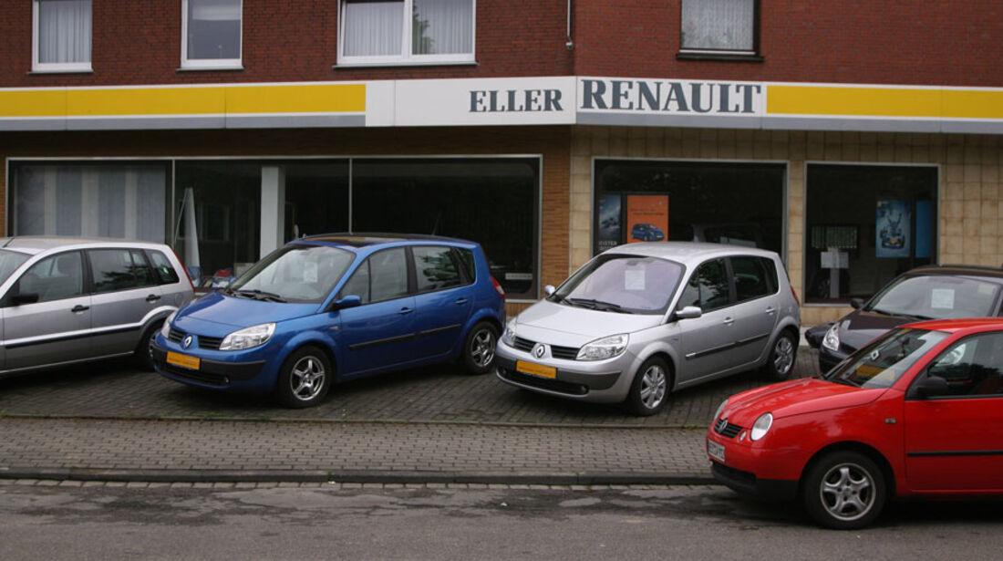 Renault-Werkstatt, Autohaus Eller