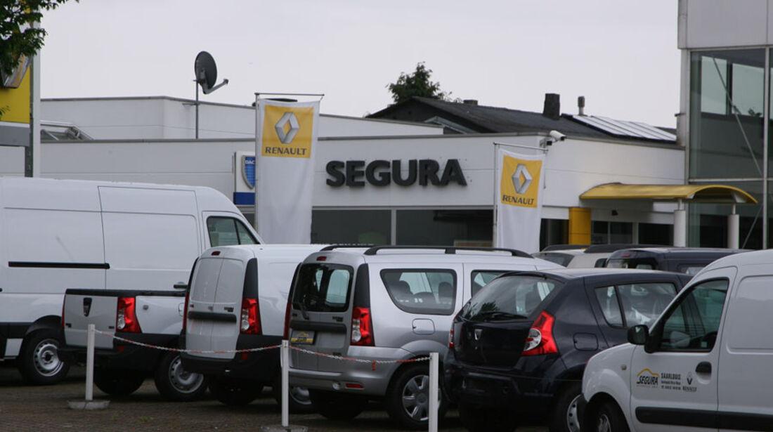Renault-Werkstatt, Autohaus Segura