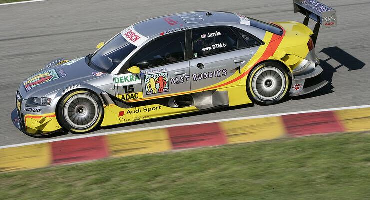 Rennwagen von Audi Team Sport Phoenix