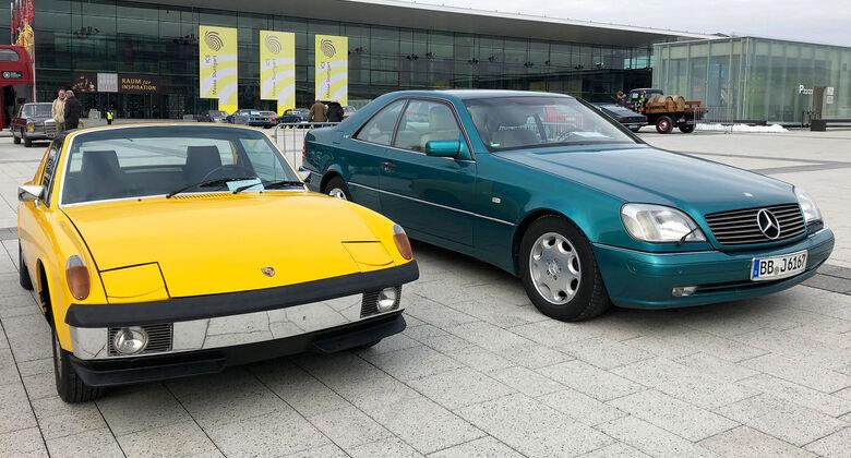 Retro Classics Stuttgart 2018 Markt Mercedes
