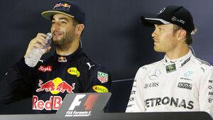 Ricciardo & Rosberg - GP Singapur 2016