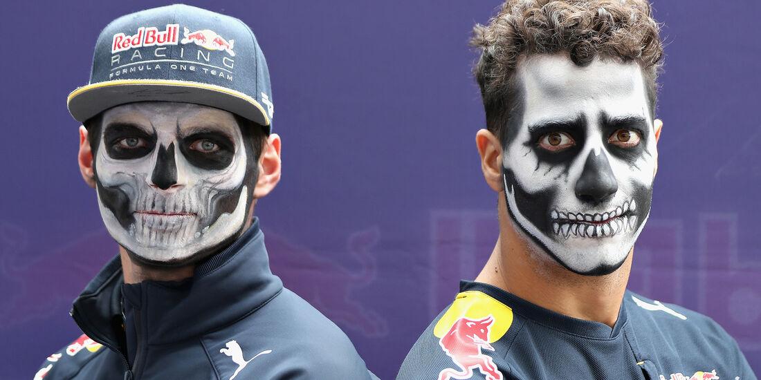 Ricciardo & Verstappen - Red Bull - Formel 1 - GP Mexiko - 27. Oktober 2016