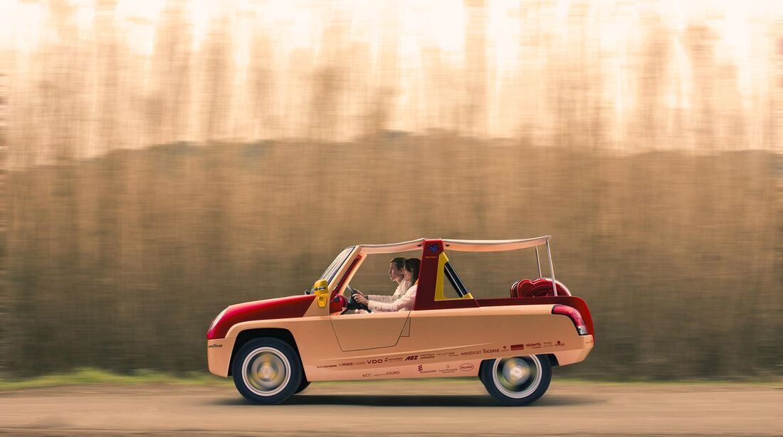 Rinspeed Bamboo Studie Genfer Autosalon