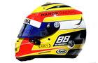 Rio Haryanto - Formel 1 - Helm - 2016