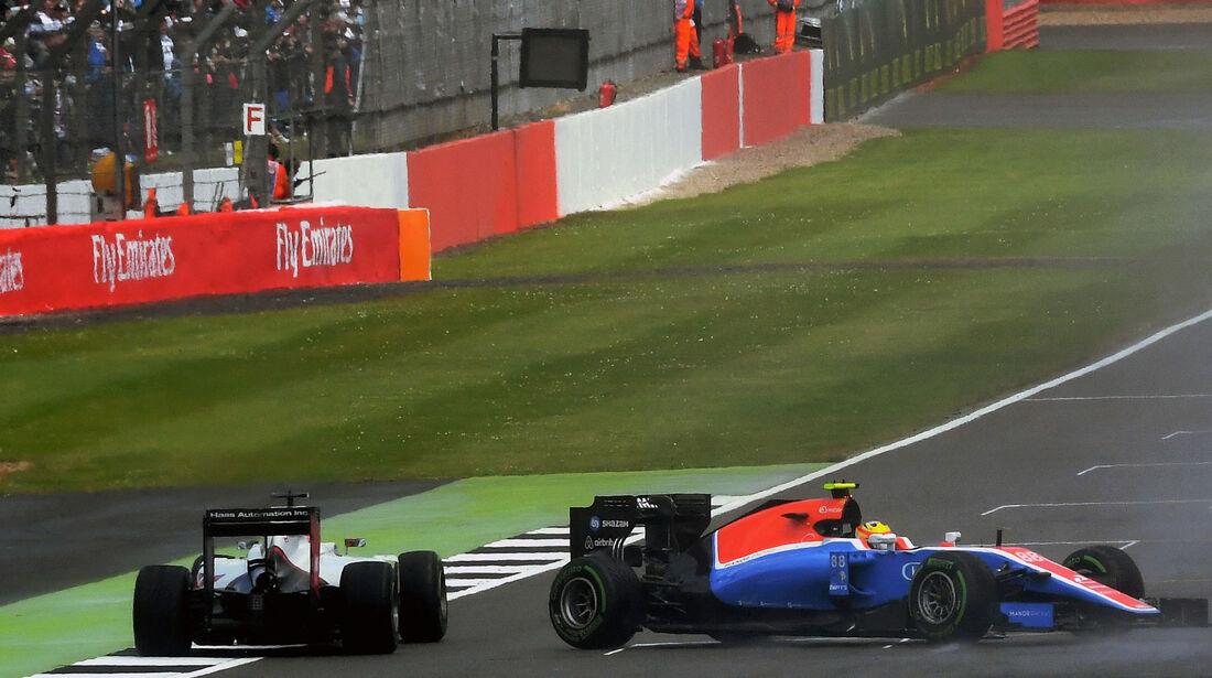 Rio Haryanto - Manor - GP England 2016 - Silverstone - Rennen