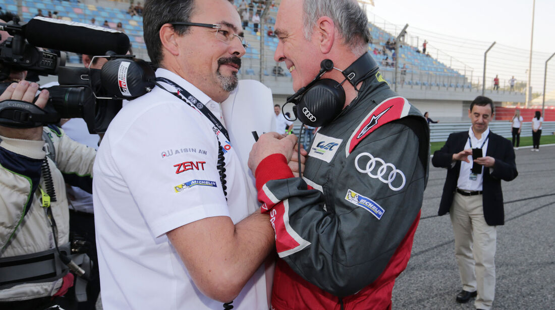 Rob Leupen - Toyota - Wolfgang Ullrich - Audi - WEC - Sportwagen-WM - Bahrain 2016