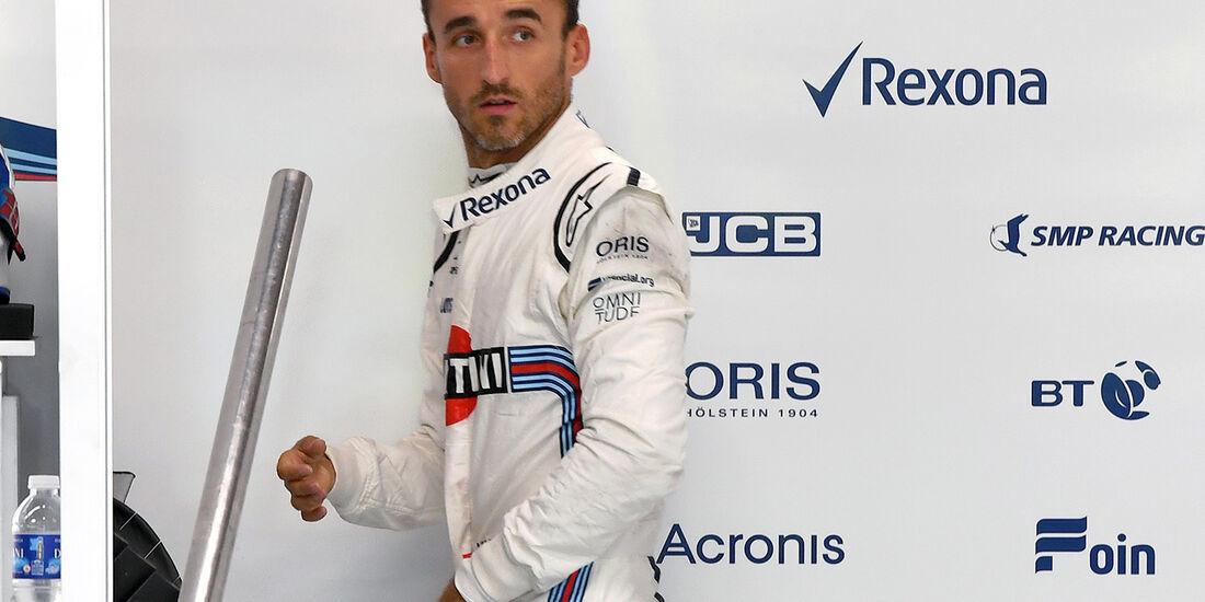 Robert Kubica - Formel 1 - GP Singapur - 13. September 2018