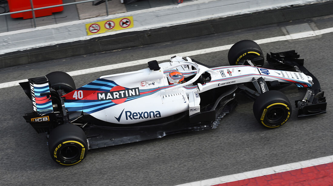 Robert Kubica - Williams - F1-Test - Barcelona - Tag 2 - 27. Februar 2018