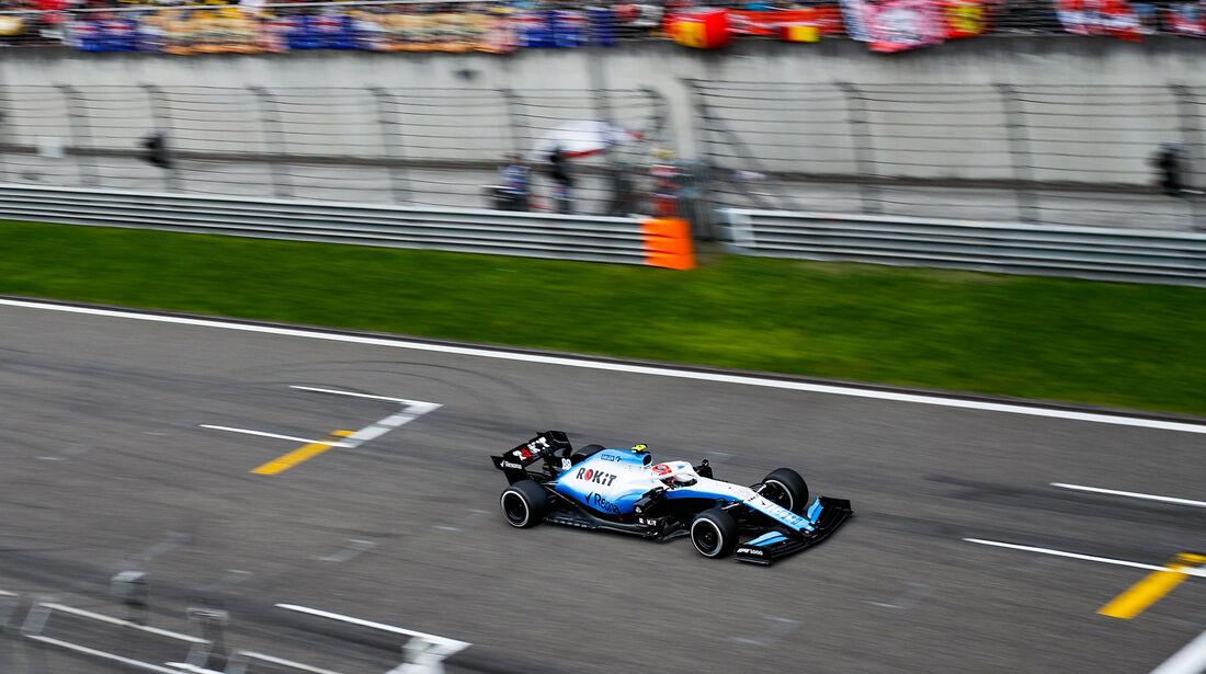 Robert Kubica - Williams - GP China 2019 - Shanghai