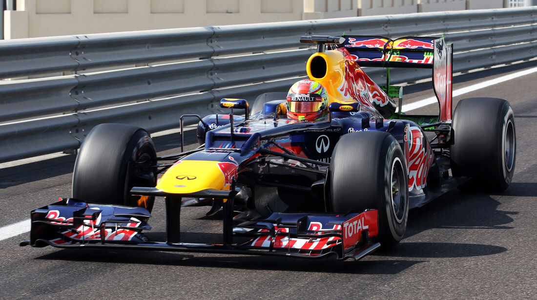 Robin Frijns - Red Bull - Young Driver Test - Abu Dhabi - 8. November 2012