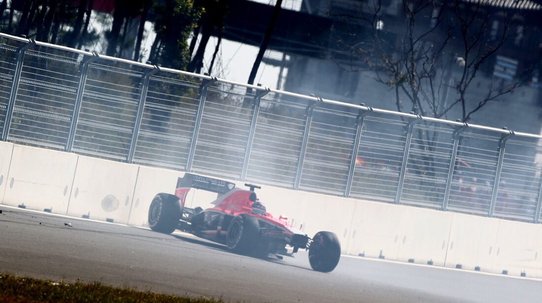 Rodolfo Gonzalez - Marussia - Formel 1 - GP Korea - 4. Oktober 2013