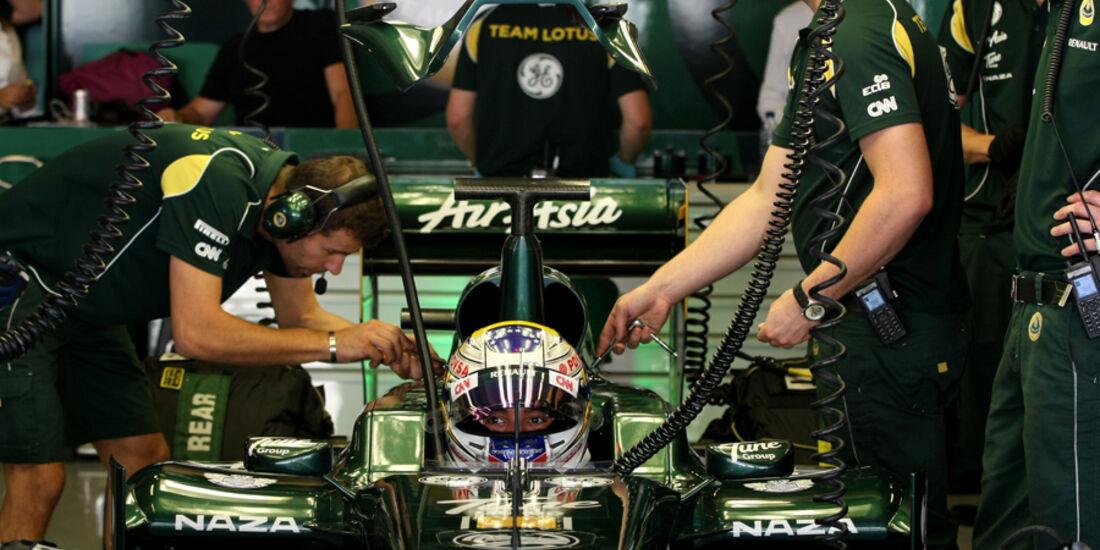 Rodolfo Gonzalez Young Driver Test Abu Dhabi 2011