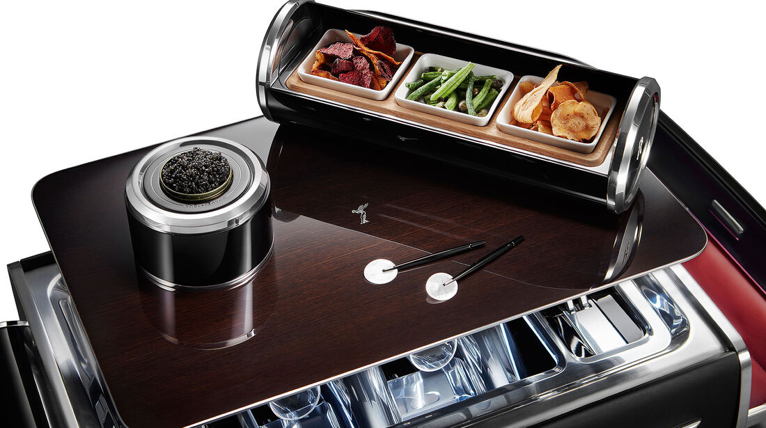 Rolls-Royce Champagner-Truhe