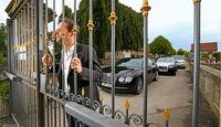 Rolls-Royce Ghost, Bentley Flying Spur, Range Rover 5.0 V8 SC, Frontansicht