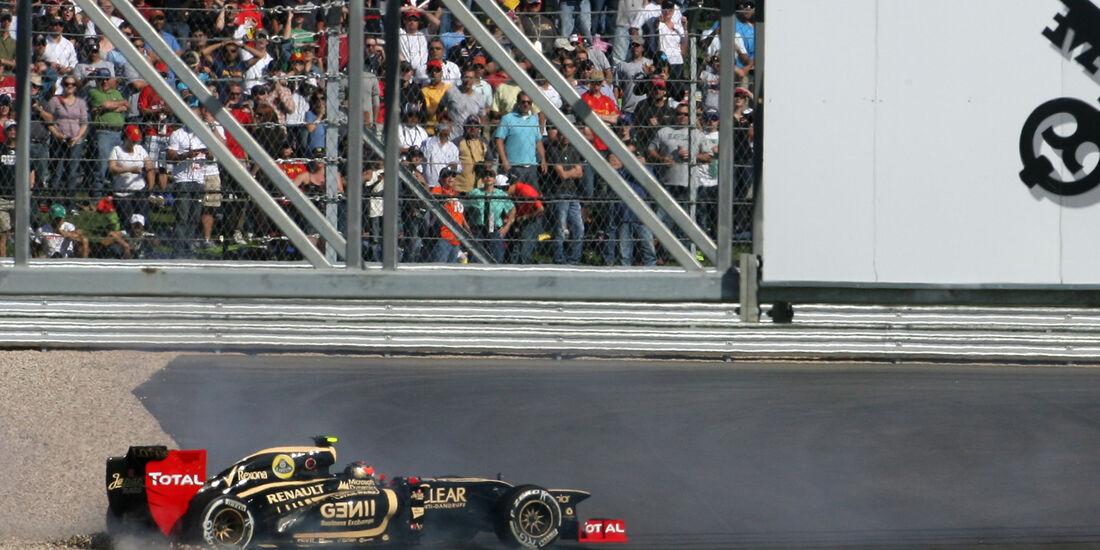 Romain Grosjean Formel 1 Austin GP USA 2012