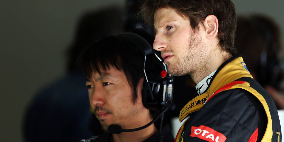 Romain Grosjean - Formel 1 - GP China - 12. April 2013