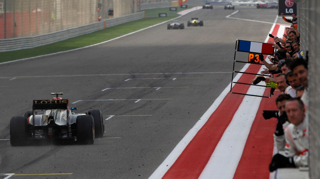 Romain Grosjean - GP Bahrain 2013
