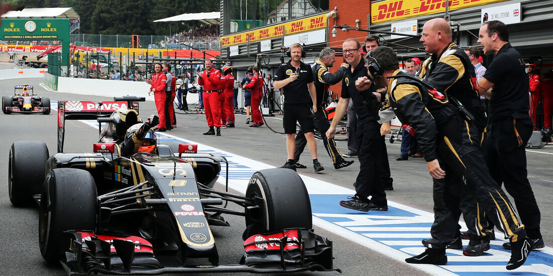 Romain Grosjean - GP Belgien 2015