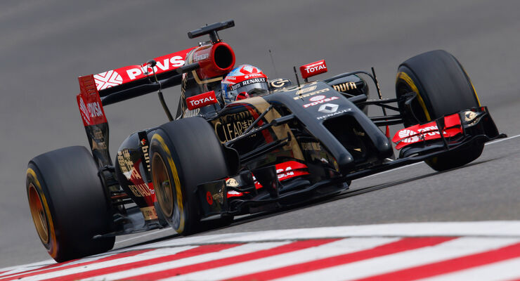 Romain Grosjean - GP China 2014