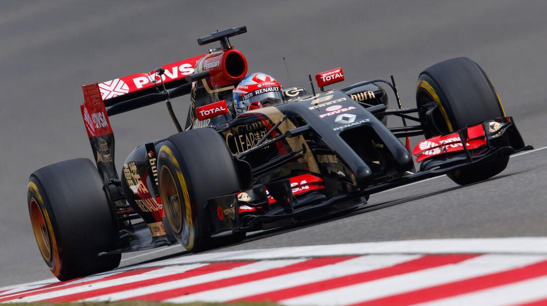 Romain Grosjean - GP China 2014