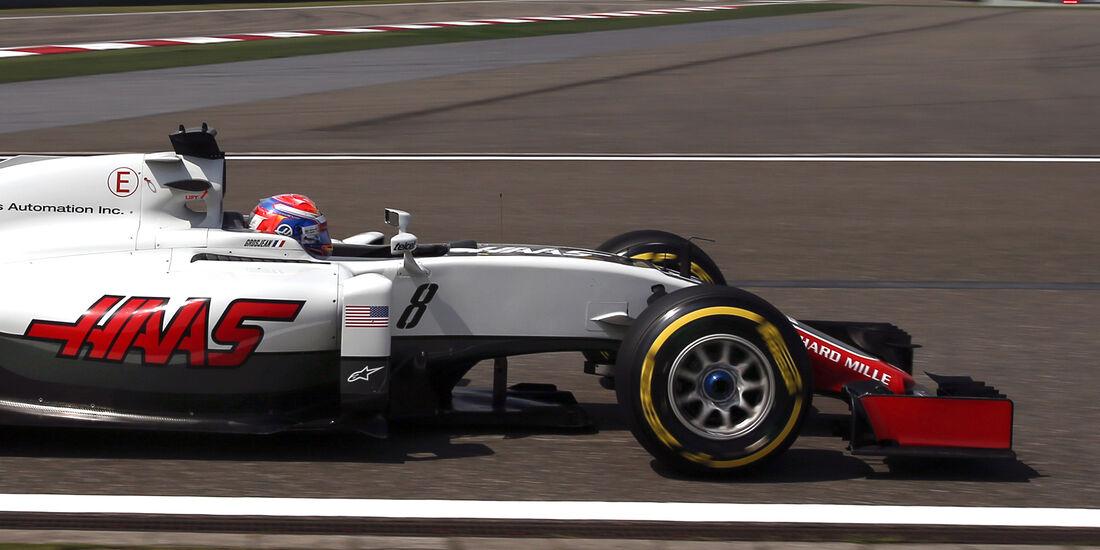 Romain Grosjean - GP China 2016