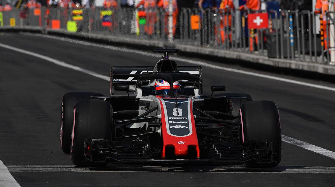 Romain Grosjean - GP Mexiko 2018